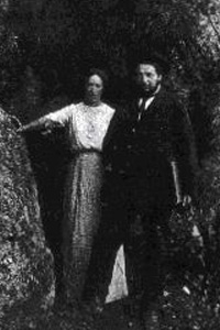 Diego Rivera y Angelina Beloff