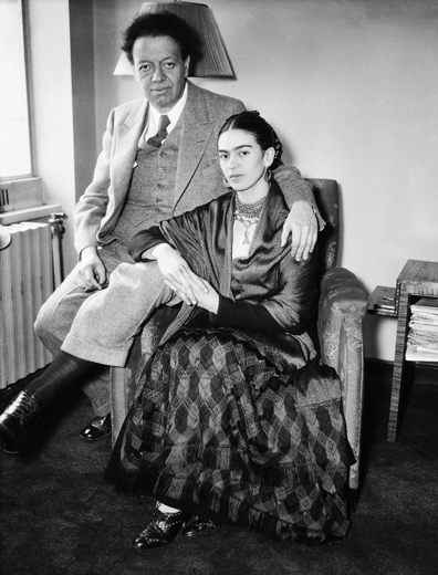 Frida y Diego © Bettmann/CORBIS